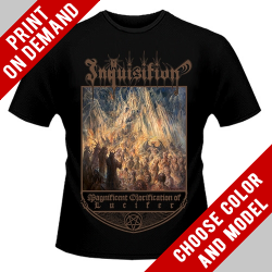 Inquisition - Magnificent Glorification of Lucifer - Print on demand