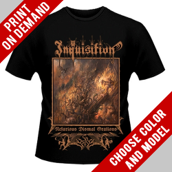 Inquisition - Nefarious Dismal Orations - Print on demand