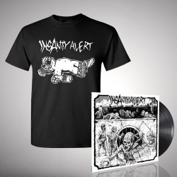 Insanity Alert - Bundle 3 - LP + T-Shirt bundle (Homme)