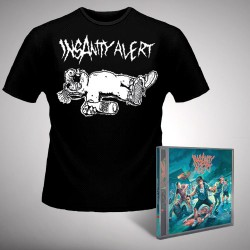 Insanity Alert - Insanity Alert - CD + T-shirt bundle (Homme)
