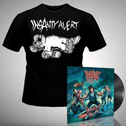 Insanity Alert - Insanity Alert - LP + T-Shirt bundle (Homme)