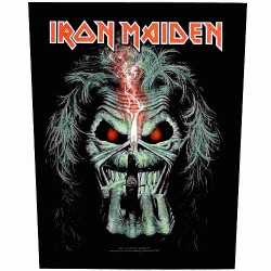 Iron Maiden - Eddie Candle Finger - BACKPATCH