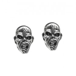 Iron Maiden - Eddie Head - STUD EARRINGS