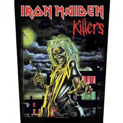 Iron Maiden - Killers - BACKPATCH
