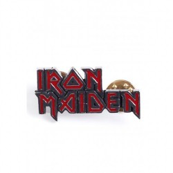 Iron Maiden - Logo - METAL PIN