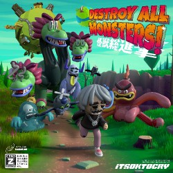 Itsoktocry - Destroy All Monsters! - LP COLOURED