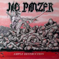 Jag Panzer - Ample Destruction - LP COLOURED