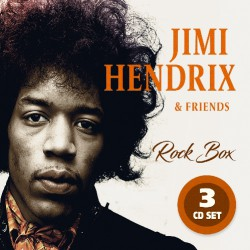 Jimi Hendrix & Friends - Rock Box - 3CD DIGISLEEVE