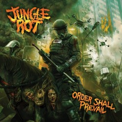 Jungle Rot - Order Shall Prevail - FLAG