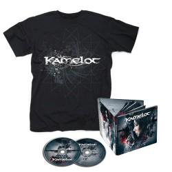 Kamelot - Haven - 2CD DIGIBOOK + T-shirt bundle (Homme)