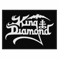 King Diamond - Logo - Patch