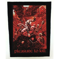 Kreator - Pleasure To Kill - BACKPATCH