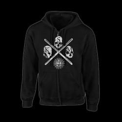 Kriegsmaschine - Enemy Of Man - Hooded Sweat Shirt Zip (Homme)
