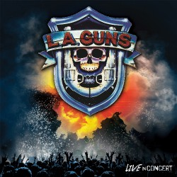 L.A. Guns - Live In Concert - LP COLOURED