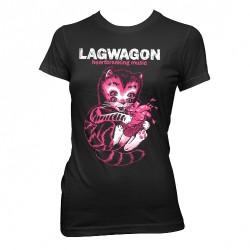 Lagwagon - Heart Cat - T-shirt (Femme)
