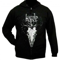 Lamb Of God - Candle Light - Hooded Sweat Shirt Zip (Men)
