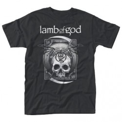 Lamb Of God - Sickle Skull - T-shirt (Men)