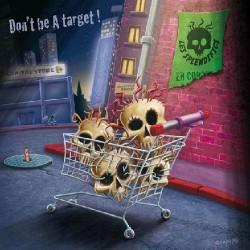 Les Splendifics - Don't be a Target! - CD DIGIPAK