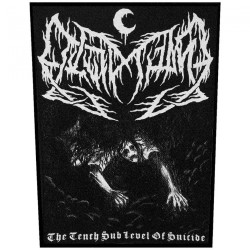 Leviathan - The Tenth Sub Level Of Suicide - BACKPATCH