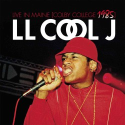Ll Cool J - Live in Maine (Colby College 1985) - LP Gatefold