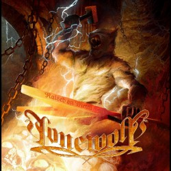 Lonewolf - Raised On Metal - LP Gatefold Coloured