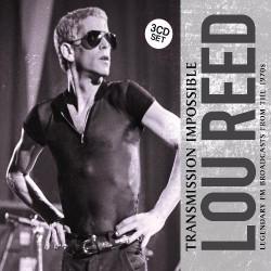 Lou Reed - Transmission Impossible - 3CD DIGIPAK