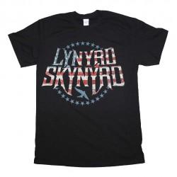 Lynyrd Skynyrd - Stripes & Stars Logo - T-shirt (Homme)