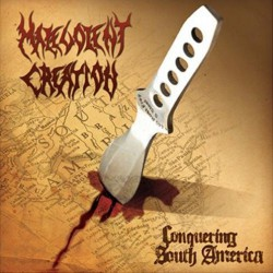 Malevolent Creation - Conquering South America - CD SLIPCASE