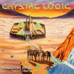 Manilla Road - Crystal Logic - LP COLOURED