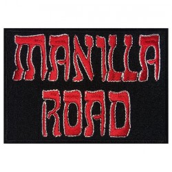 Manilla Road - Logo - EMBROIDERED PATCH