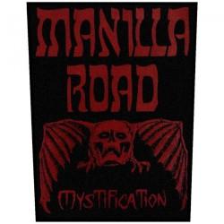 Manilla Road - Mystification - BACKPATCH