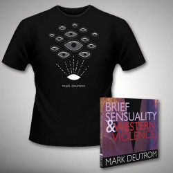 Mark Deutrom - Brief Sensuality & Western Violence - CD DIGISLEEVE + T-shirt bundle (Homme)