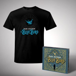 Mark Deutrom - The Blue Bird - CD DIGISLEEVE + T-shirt bundle (Homme)