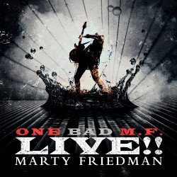 Marty Friedman - One Bad M.F. Live !! - DOUBLE LP Gatefold