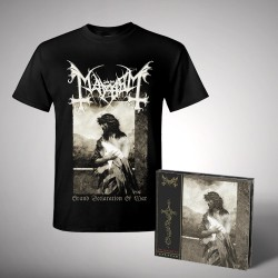 Mayhem - Bundle 1 - CD DIGIPAK + T-shirt bundle (Homme)
