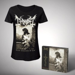 Mayhem - Bundle 2 - CD DIGIPAK + T-shirt bundle (Femme)