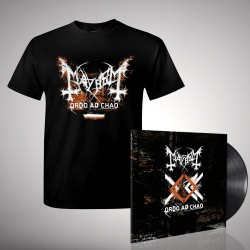 Mayhem - Bundle 5 - LP gatefold + T-shirt bundle (Homme)