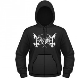 Mayhem - De Mysteriis Dom Sathanas - Hooded Sweat Shirt Zip (Men)