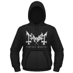 Mayhem - Esoteric Warfare - Hooded Sweat Shirt Zip (Homme)
