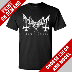 Mayhem - Esoteric Warfare [back) - Print on demand