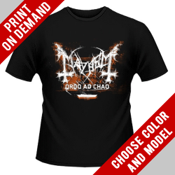 Mayhem - Ordo Ad Chao 2014 - Print on demand