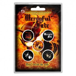 Mercyful Fate - Don't Break The Oath - BUTTON BADGE SET