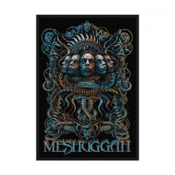 Meshuggah - 5 Faces - Patch
