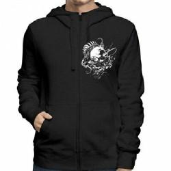 Meshuggah - Mesh Logo - Hooded Sweat Shirt Zip (Homme)