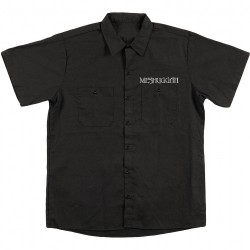 Meshuggah - Silver Logo - Silver Crest - Worker Shirt (Homme)