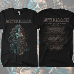 Meshuggah - Violent Sleep Tour - T-shirt (Homme)