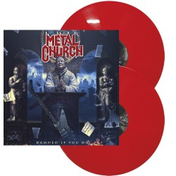 Metal Church - Damned If You Do - DOUBLE LP GATEFOLD COLOURED