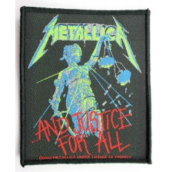 Metallica - ...And Justice For All - Patch