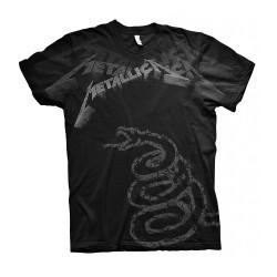 Metallica - Black Album Faded - T-shirt (Homme)