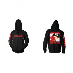Metallica - Kill 'Em All - Hooded Sweat Shirt Zip (Homme)